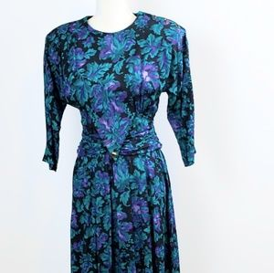 Dawn Fashion Vintage Floral Dress
